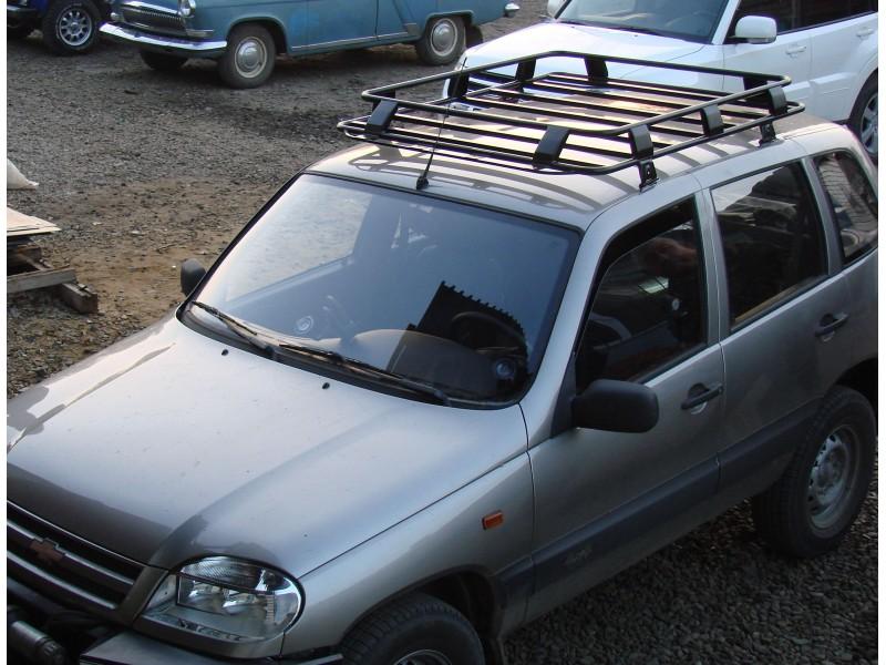 Багажник экспедиционный ВАЗ 2123 Нива-Шевроле без сетки (ЕвроДеталь)