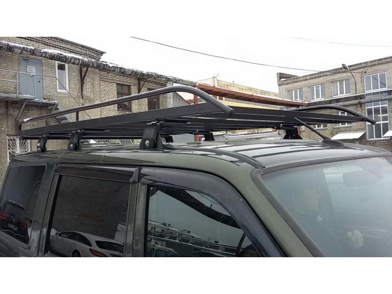 Багажник экспедиционный УАЗ 3163 Патриот без сетки (ЕвроДеталь)